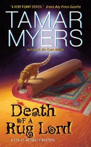 Death of a Rug Lord - Tamar Myers - cover