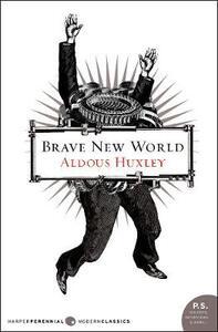 Brave New World - Aldous Huxley - cover
