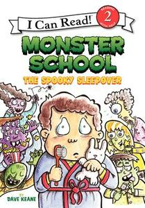 The Spooky Sleepover - Dave Keane - cover