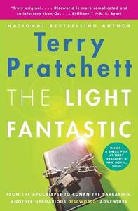 The Light Fantastic - Terry Pratchett - cover