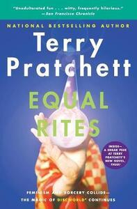 Equal Rites - Terry Pratchett - cover