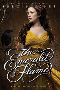 Warrior Princess #3: The Emerald Flame - Frewin Jones - cover