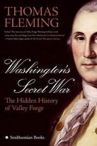 Washington's Secret War - Thomas Fleming - cover