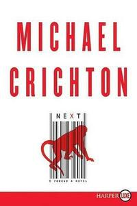 Next Large Print - Michael Crichton - cover