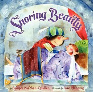 Snoring Beauty - Sudipta Bardhan-Quallen - cover