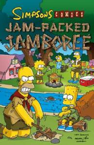 The Simpsons Comics Jam-packed Jamboree - Matt Groening - cover
