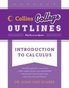 Introduction to Calculus - Joan Van Glabek - cover