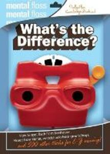 Mental Floss: What's The Difference - Mangesh Hattikudur,Will Pearson - cover