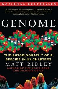 Genome: The Autobiography of a Species in 23 Chapters - Matt Ridley - cover