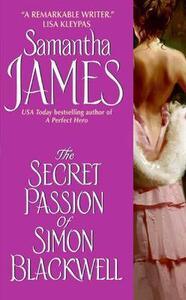 The Secret Passion of Simon Blackwell - Samantha James - cover