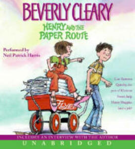 Henry and the Paper Route CD - Beverly Cleary - cover