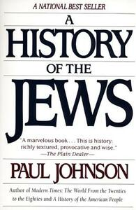 A History of the Jews - Paul Johnson - cover