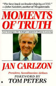 Moments of Truth - Jan Carlzon - cover