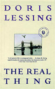 The Real Thing: Stories and Sketches - Doris Lessing - cover