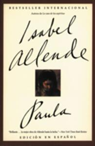 Paula Spa - Isabel Allende - cover