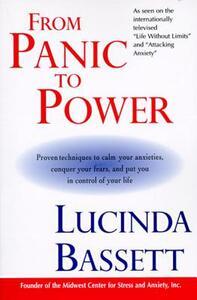 From Panic to Power - Lucinda Bassett - cover