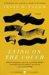 Lying on the Couch: A Novel - Irvin D. Yalom - cover