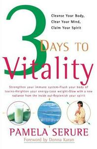 3 Days to Vitality - Pamela Serure - cover