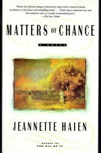 Matters of Chance - Jeannette Haien - cover