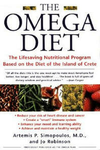 The Omega Diet - Jo Robinson,Artemis Simopoulos - cover