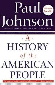 A History of the American People - Paul Johnson - cover