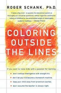 Coloring Outside the Lines - Roger Schank - cover