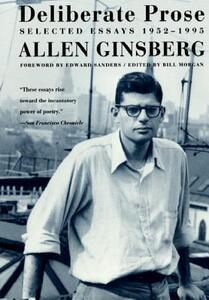 Deliberate Prose - Allen Ginsberg,Bill Morgan - cover