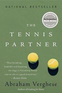 The Tennis Partner - Abraham Verghese - cover