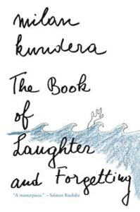 The Book of Laughter and Forgetting - Milan Kundera - cover