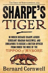 Sharpe's Tiger - Bernard Cornwell - cover