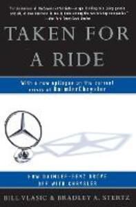 Taken for a Ride - Bill Vlasic,Bradley A. Stertz - cover