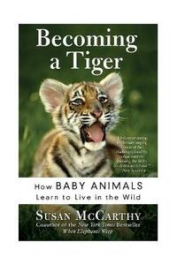 Becoming A Tiger: How Baby Animals Learn To Live In The Wild - Susan McCarthy - cover