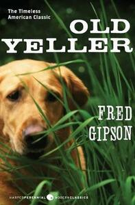 Old Yeller - Fred Gipson - cover