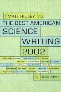 Best American Science Writing 2002 - Matt Ridley - cover