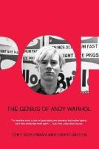 Pop: The Genius of Andy Warhol - Tony Scherman,David Dalton - cover