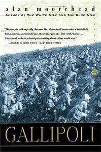 Gallipoli - Alan Moorehead - cover