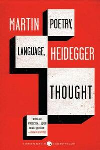 Poetry, Language, Thought - Martin Heidegger - cover