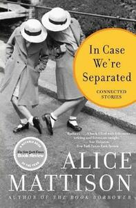In Case We're Separated: Connected Stories - Alice Mattison - cover