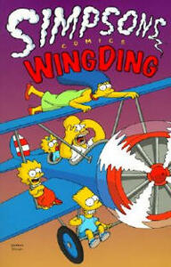 Simpsons Comics Wingding - Matt Groening - cover