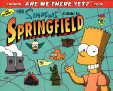 The Simpsons Guide to Springfield - Matt Groening - cover