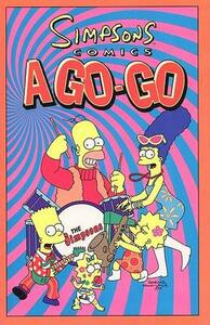 Simpsons Comics A-Go-Go - Matt Groening - cover
