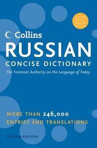 HarperCollins Russian Concise Dictionary, 2e - Harpercollins Publishers - cover
