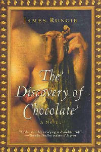 The Discovery of Chocolate - James Runcie - cover
