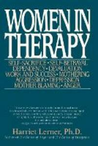 Women In Therapy - Harriet Goldhor Lerner - cover