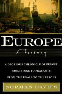 Europe: A History - Norman Davies - cover