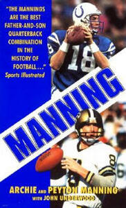 Manning - Archie Manning,Peyton - cover