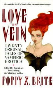 Love In Vein - Poppy Z. Brite - cover