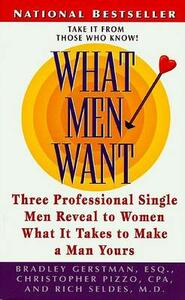 What Men Want - Gerstman / Pizzo / Seldes - cover