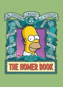The Homer Book: The Simpsons Library Of Wisdom - Matt Groening - cover