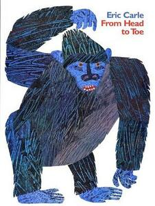 From Head To Toe Big Book - Eric Carle - cover